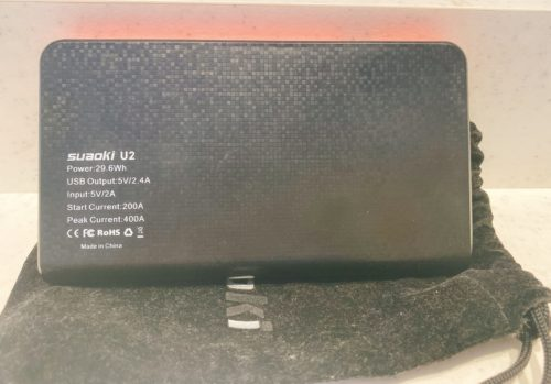 『suaoki U2』モバイルバッテリーとジャンプスター